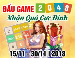 Đấu Game 2048 - Nhận Quà Cực Đỉnh