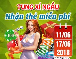 Tung xí ngầu – Nhận thẻ miễn phí