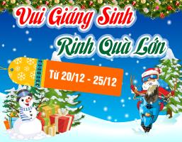 Vui Giáng Sinh - Rinh Quà Lớn