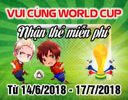 Vui Cùng World Cup - Nhận Thẻ Miễn Phí