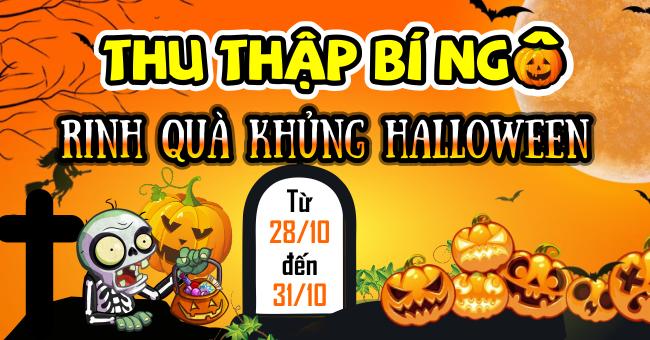 Thu Thập Bí Ngô- Rinh Quà Khủng Halloween