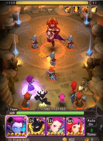 Hero Combo-Pha trộn lối chơi của Liên Minh Huyền Thoại và DotA