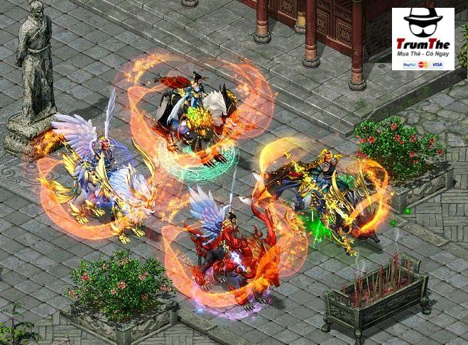 Kiếm Thế Hoàng Kim -Sever Hậu Phụng- Cách Nạp Bạc Gate hiệu quả