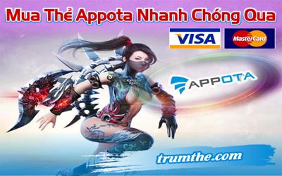 Hướng dẫn 3 bước đơn giản để mua Appota Card bằng Visa, Mastercard