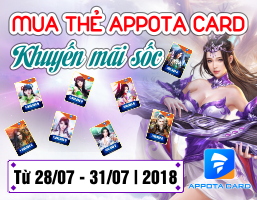 Mua Appota Card - Khuyến mãi Sốc