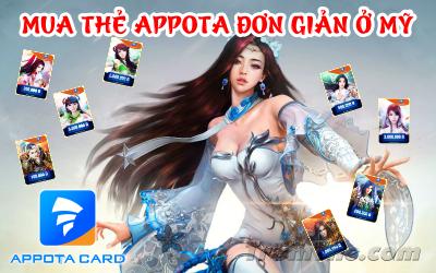 Có thể mua thẻ Appota ở Mỹ không nhỉ?