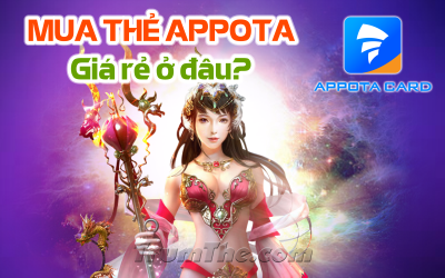 Mua thẻ Appota ở đâu? Cách mua Appota Card giá rẻ