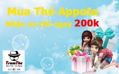 Mua thẻ Appota - Nhận Ưu Đãi Ngay 200k
