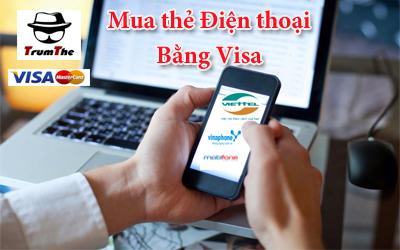 Mách bạn cách Mua Thẻ Điện Thoại bằng Thẻ Visa