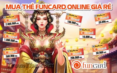Bật mí bí quyết Mua Thẻ Funcard Online vô cùng đơn giản, dễ làm