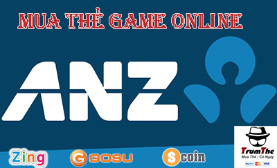 Mua Thẻ Game Bằng Chuyển Khoản ANZ Ở Úc