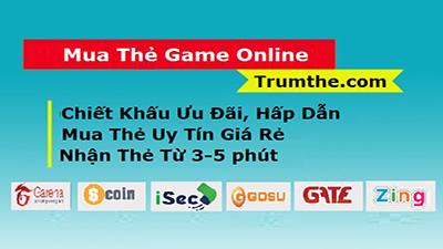 Thẻ Game Online Và Lưu Ý Khi Mua Thẻ Game Online Bạn Nên Biết