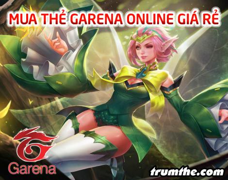 Nạp Thẻ Garena trực tuyến giá siêu rẻ