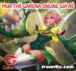 Những cách mua thẻ Garena thông dụng nhất