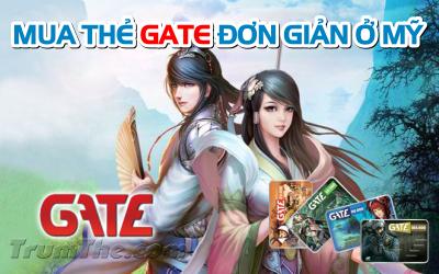 Bí quyết mua thẻ Gate đơn giản nếu sống ở Mỹ