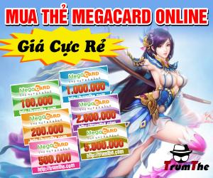 Mua Thẻ Megacard - Khuyến Mãi Khủng