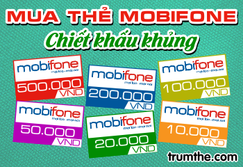 Những cách mua thẻ mobifone tiện lợi nhất