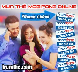 Mua thẻ mobifone online giá rẻ ở đâu
