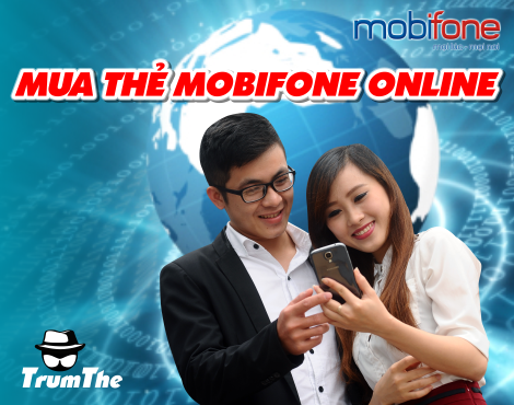 Thanh toán trực tuyến khi mua thẻ Mobifone online