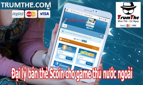 Mua thẻ Scoin qua Visa, Mastercard ở Nước Ngoài cực Nhanh