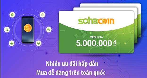 Mua thẻ Sohacoin giao dịch dễ dàng nhất cả nước