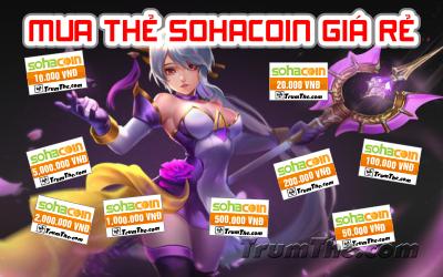 Ở đâu có thể mua thẻ Sohacoin giá rẻ nhất?
