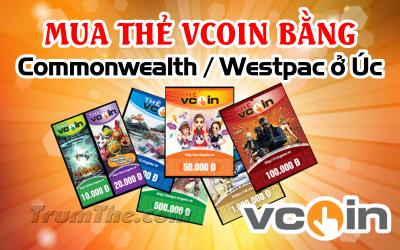 Làm sao có thể mua thẻ Vcoin nhanh nếu sống ở Úc?