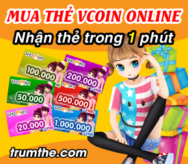 Mua thẻ vcoin chơi game Audition