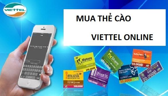 Bí quyết mua thẻ Viettel online dễ dàng nhất thị trường