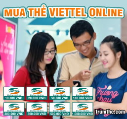 Website mua thẻ viettel online uy tín, giá rẻ