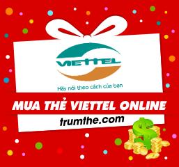 Cách dùng thẻ Visa/Master để mua thẻ Viettel online