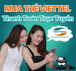 Cách nạp thẻ Viettel vào game Cửu Âm Chân Kinh