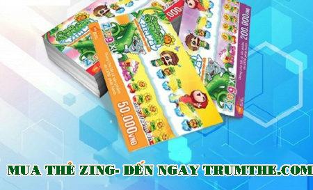 Mua Thẻ Zing- Nghĩ Ngay Tới Trumthe.com