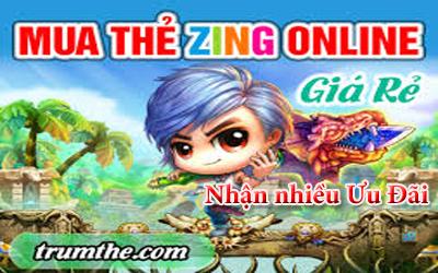 Những ưu đãi nhận được khi Mua Zing Card tại Trumthe.com