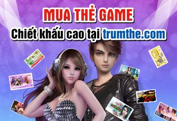 Nơi giao dịch thẻ game online (trực tuyến) với chiết khấu cao