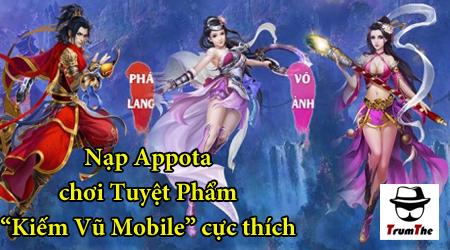 Kiếm Vũ Mobile - Tuyệt phẩm kiếm hiệp đến từ GAMOTA