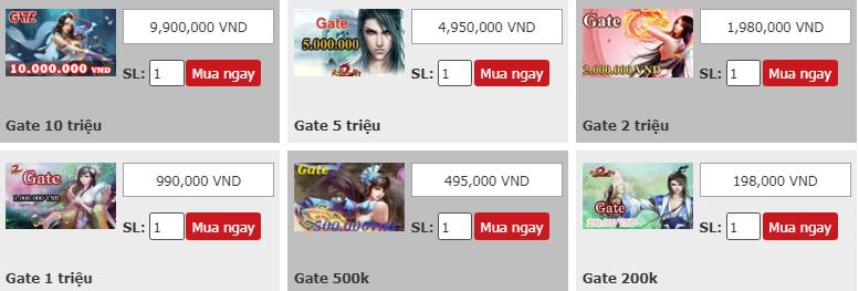 Thẻ Gate và Tất cả những thông tin liên quan đến Thẻ Gate