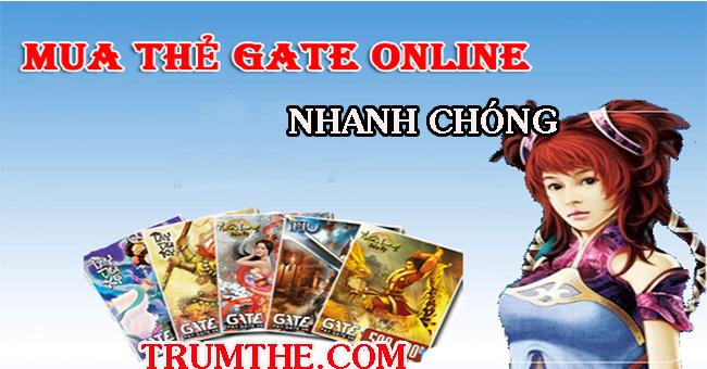 Mua Thẻ Gate- Nạp Thẻ Gate Nhanh Chóng