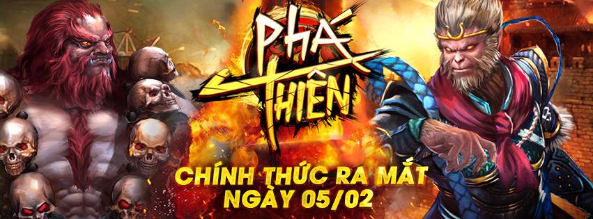 Mua thẻ gate online trải nghiệm game Phá Thiên