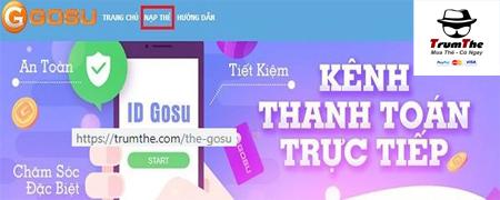 Bốn bước sở hữu thẻ Gosu trong tầm tay
