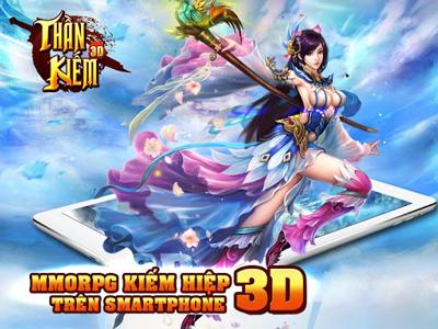 Thần Kiếm 3D – Game hấp dẫn dù ít update