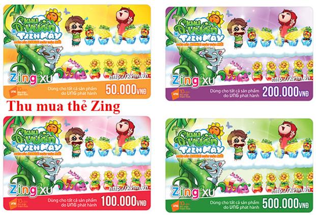 Công dụng chính của thẻ Zing Card