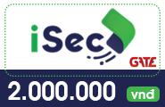 Thẻ iSec 2 triệu