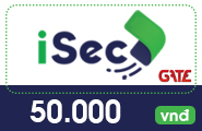 Thẻ iSec 50k