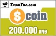 Thẻ Scoin 200k