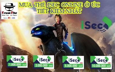 Mua thẻ Isec ở Úc tiết kiệm nhất