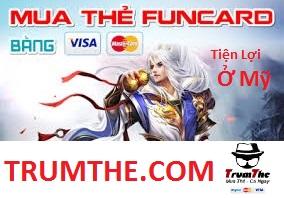 mua thẻ funcard ở mỹ