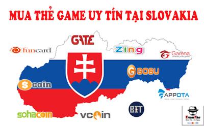 Mua thẻ game ở Slovakia uy tín, giá tốt nhất